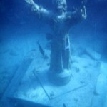 Christ of the Abyss wallpaper image skyview