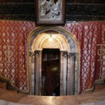 Entrance to the grotto of the nativity pic