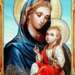Jesus with Mary pic