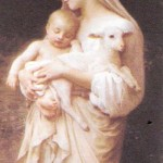 Jesus and Mary Pic serene image