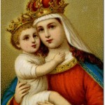 Jesus and Virgin Mary Image