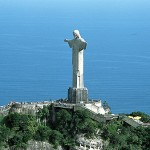 Jesus Christ Largest Statue in the world distant view pic