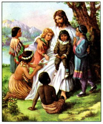 Pictures of Jesus With Children
