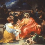 Jesus Christ Pics with children around him