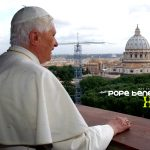 Pope Benedict xvi pic addressing the public image