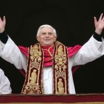 Pope Benedict xvi pic hands outstretched