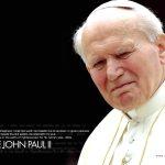 Pope John Paul ii closeup image