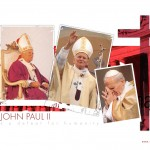 Pope John Paul ii several pics in one