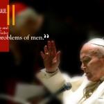 Pope John Paul ii blessing image