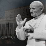Pope John Paul ii Pic clapping his hands