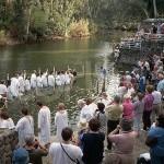 Jordan River pilgrims baptism pics
