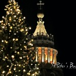 St.Peters Basilica Holy place pictures at night