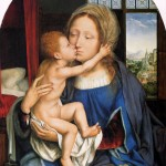 virgin mary image with baby Jesus