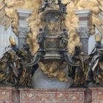 Church fathers on the Cathedra of Peter