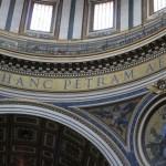 Inscription in the cupola