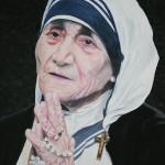 Praying Mother Teresa