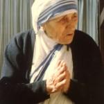 Mother Teresa greeting