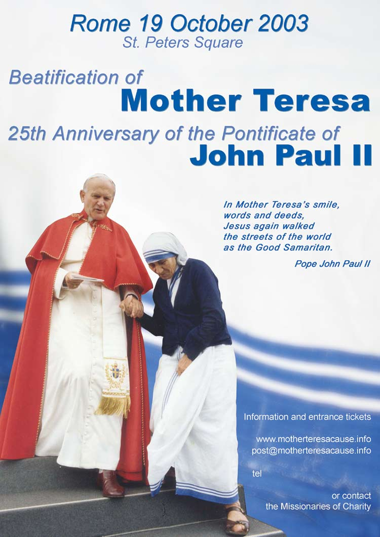 an outline of the life of mother teresa Mother teresa, known in the roman catholic church as saint teresa of calcutta  was an albanian-indian roman catholic nun and.