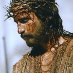 Passion Jesus bloody face