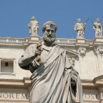 St.Peter new statue