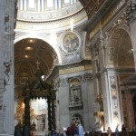 St.Peters nativity dome