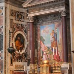 The Altar of St. Joseph, consecrated by Pope John XXIII
