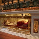 Body of Pope John XXIII under the Altar of St. Jerome