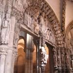 The celebrated Portico de la Gloria