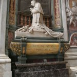 Monument to Pope Benedict XV (1914-22) by Pietro Canonica