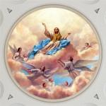Virgin Mary in Heaven