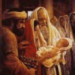 Baby Jesus in church