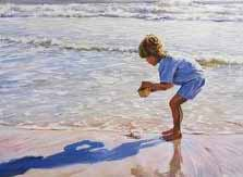 Boy saving Starfish