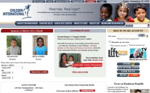Children International Website