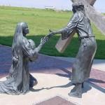 Crucifixion of Christ near Amarillo TX_0107