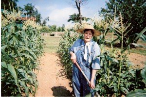 Farmer corn