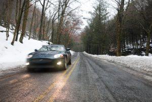 Fast in a Jaguar