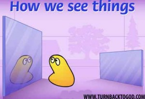 Its all about how we see things
