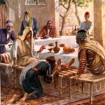 Jesus at a Pharisee\'s House