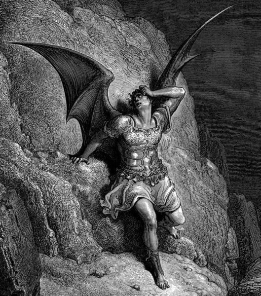 Satan The Bad Angel