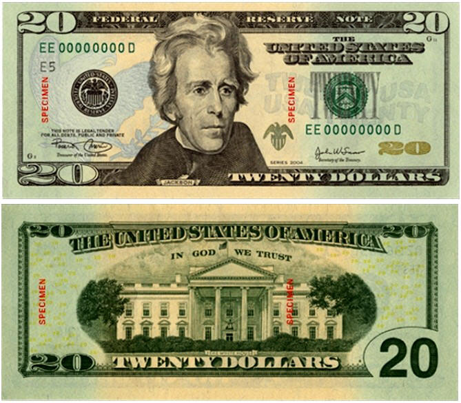 20 bill. In the room of 200, he asked, who would like this $20 bill