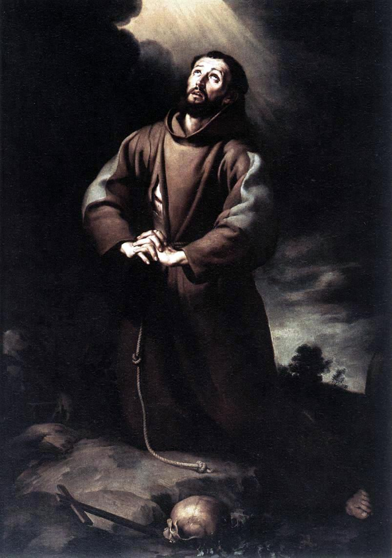 st Francis Wallpaper st Francis of Assisi Praying
