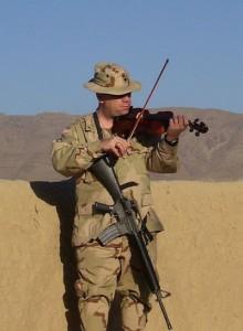 Violin that gave hope