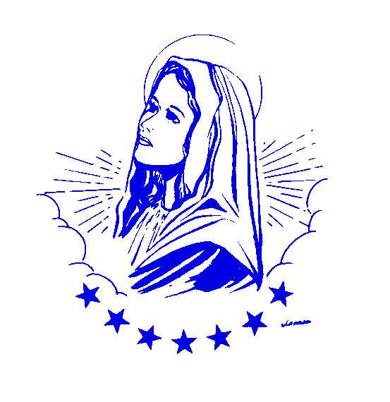 clipart of mother mary - photo #42