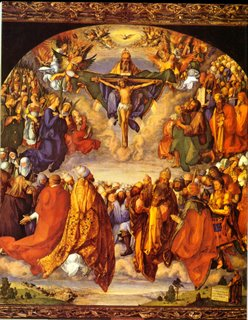 All you saints in Heaven