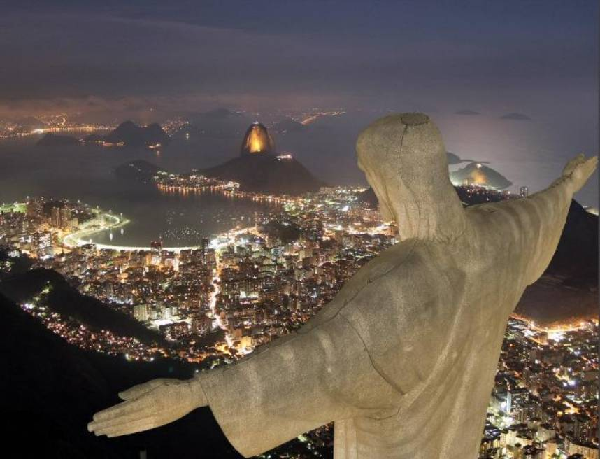 Pictures of Christ The Redeemer statue, Brazil