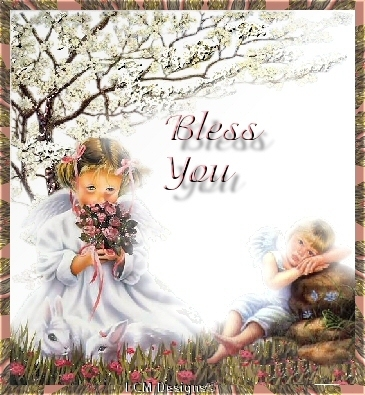 I bless you my child