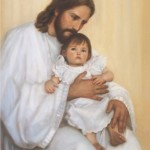Jesus with Children 1002