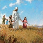 Jesus with Children 1003