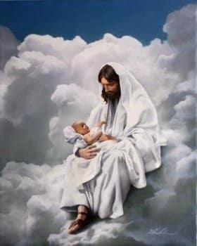 Jesus With Children Wallpapers Set 10