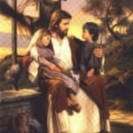 Jesus with Children 1008